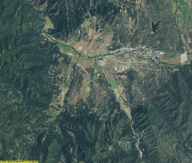 Trinity County, California aerial photography