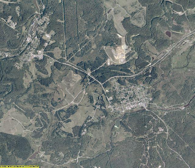 Tucker County, West Virginia aerial photography
