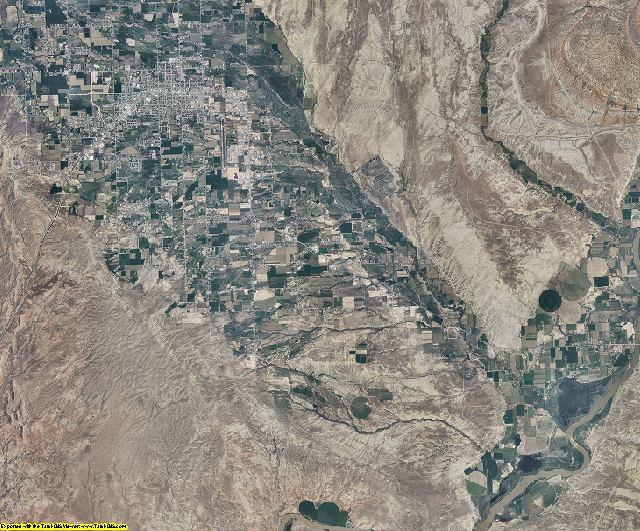 Uintah County, Utah aerial photography