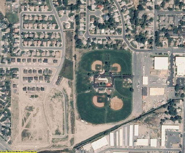 Utah County, UT aerial photography detail