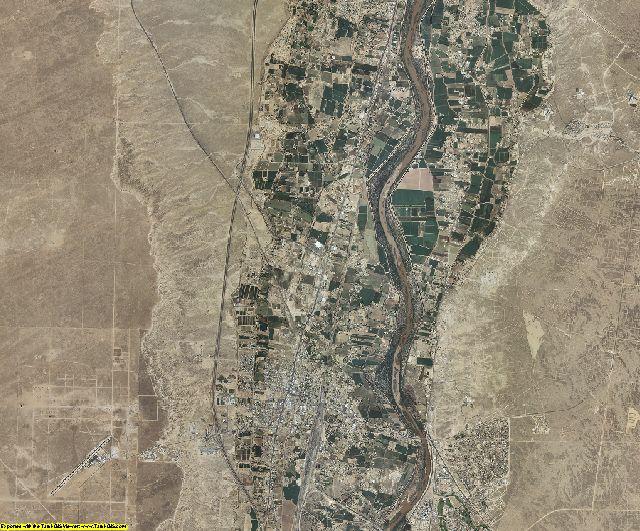 Valencia County, New Mexico aerial photography