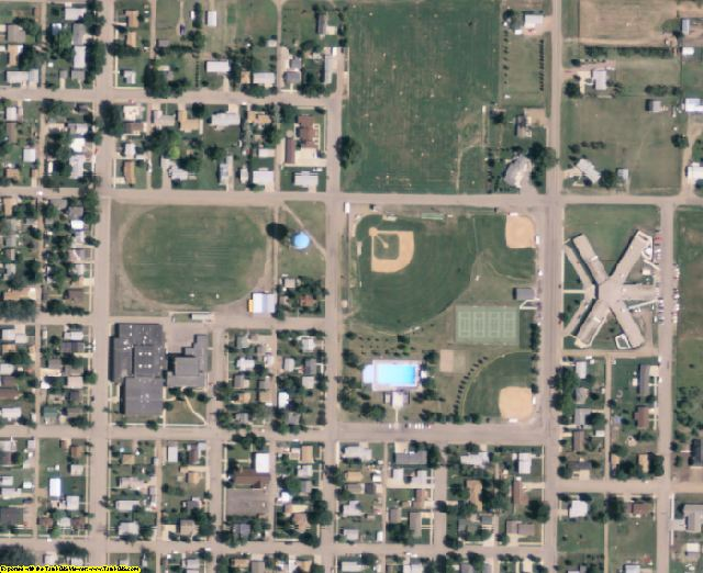Walworth County, SD aerial photography detail