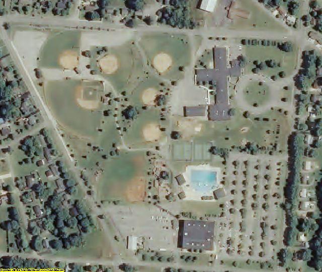 Warren County, TN aerial photography detail