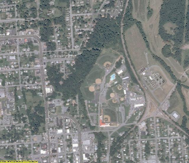 Warren County, VA aerial photography detail