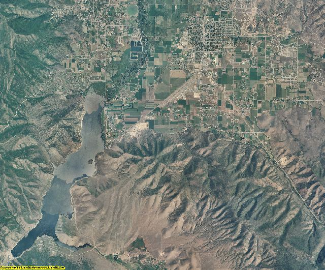 Wasatch County, Utah aerial photography