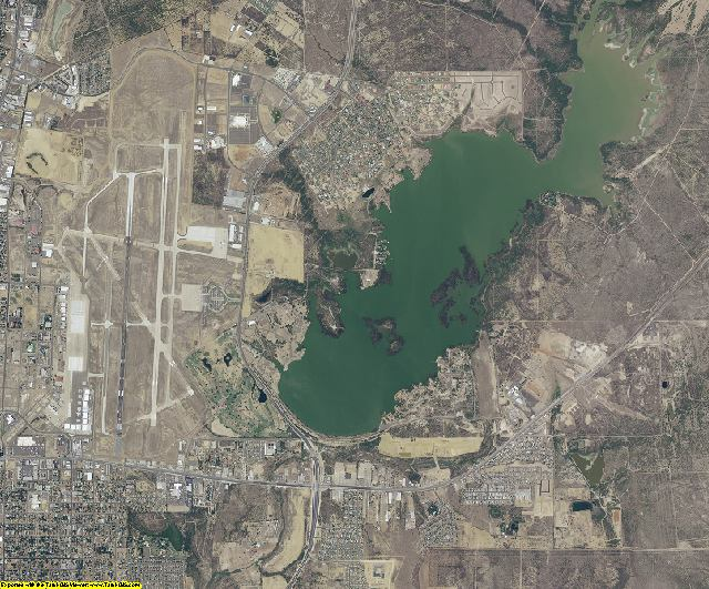 Webb County, Texas aerial photography