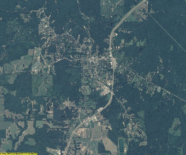 Wilkinson County, Mississippi aerial photography
