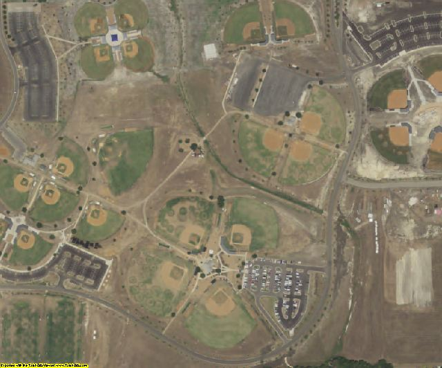 Williamson County, TX aerial photography detail
