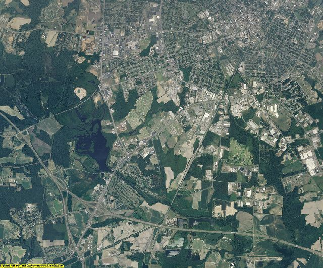 Wilson County, North Carolina aerial photography