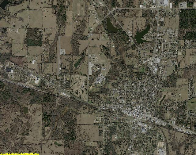 Wood County, Texas aerial photography