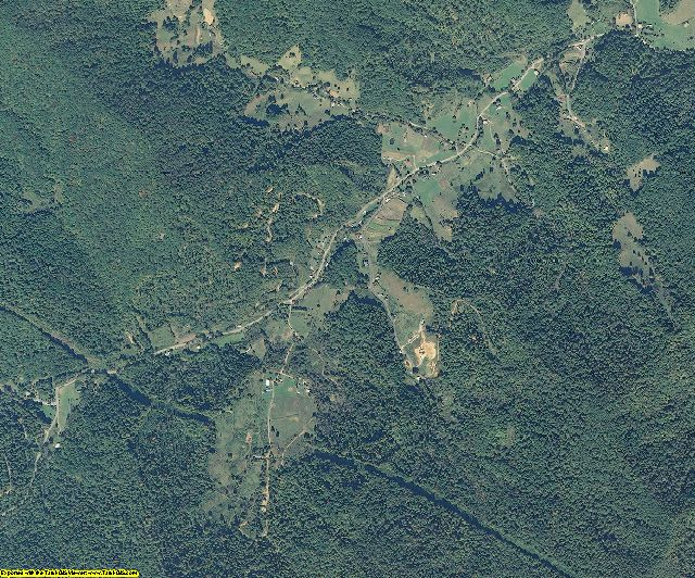 Yancey County, North Carolina aerial photography