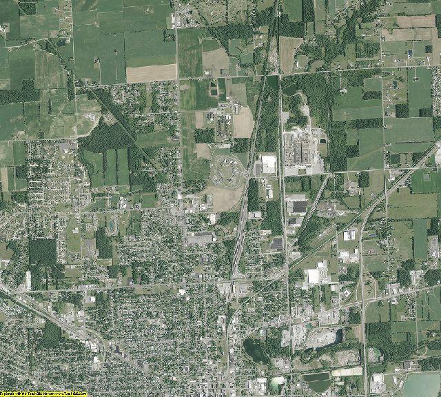 Allen County, Ohio aerial photography