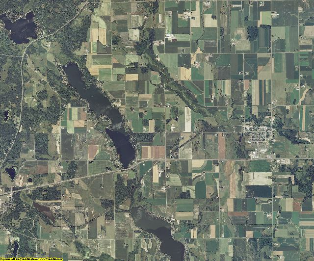 Barron County, Wisconsin aerial photography