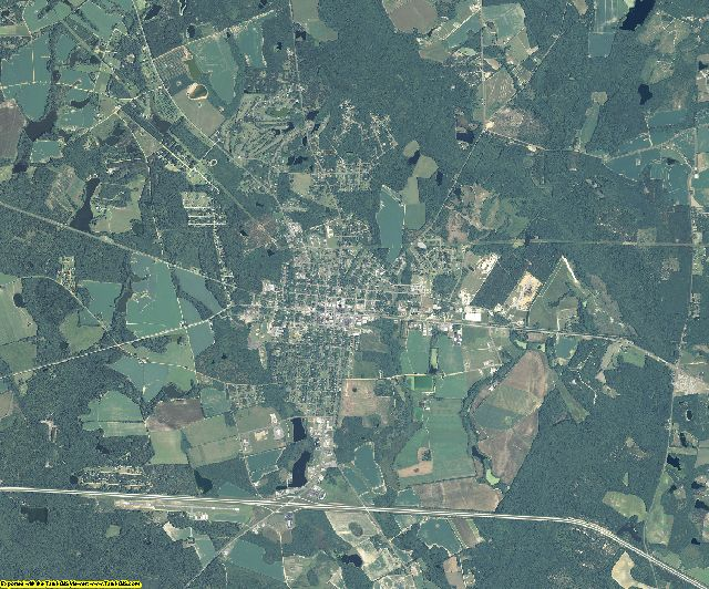 Candler County, Georgia aerial photography