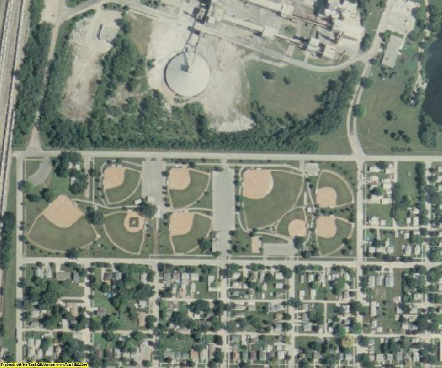 Cerro Gordo County, IA aerial photography detail