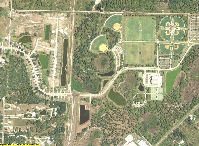 Charlotte County, FL aerial photography detail