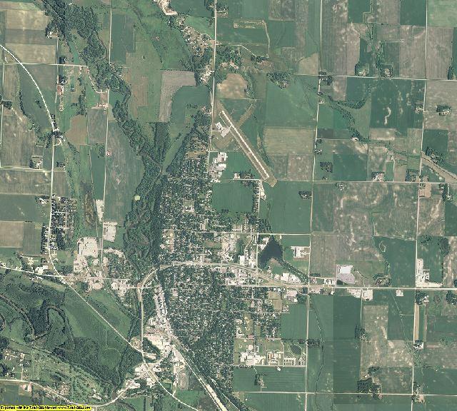 Chippewa County, Minnesota aerial photography