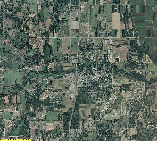 Chisago County, Minnesota aerial photography
