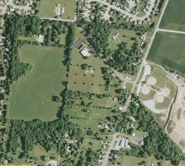 Clark County, OH aerial photography detail