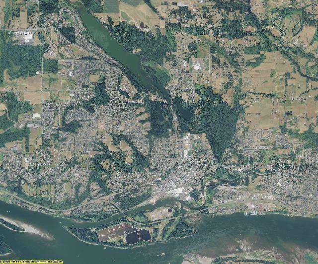 Clark County, Washington aerial photography