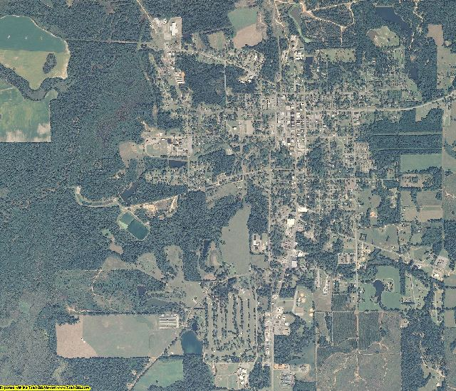 Crenshaw County, Alabama aerial photography