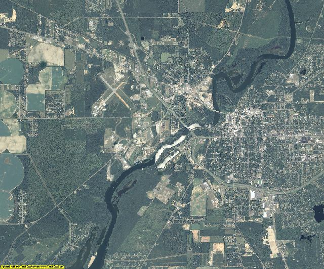 Decatur County, Georgia aerial photography