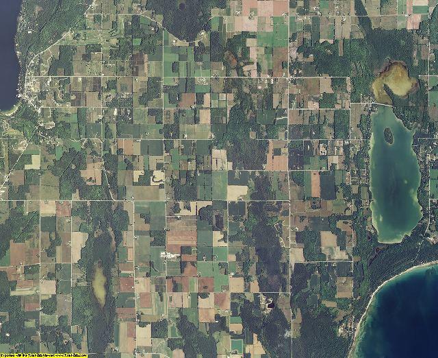 Door County, Wisconsin aerial photography