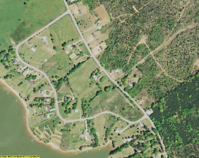 Fairfield County, SC aerial photography detail