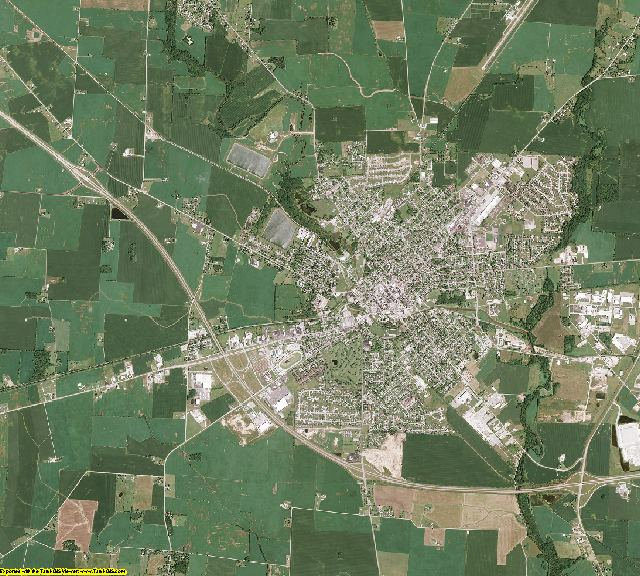 Fayette County, Ohio aerial photography