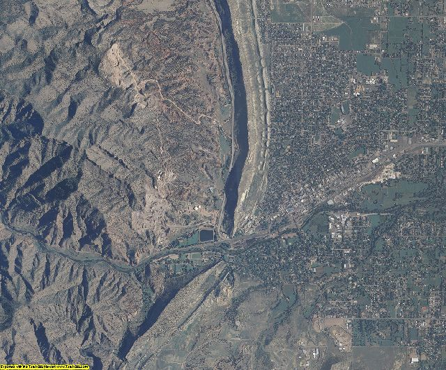 Fremont County, Colorado aerial photography