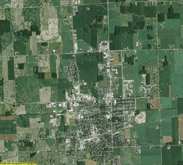 Fulton County, Ohio aerial photography