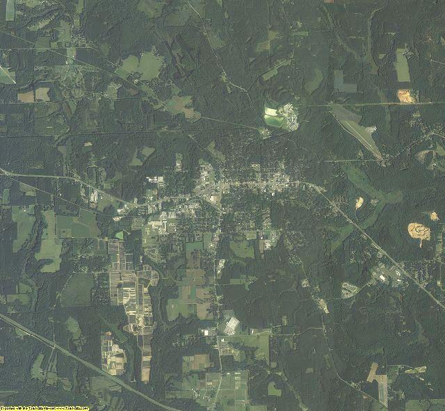 Gadsden County, Florida aerial photography