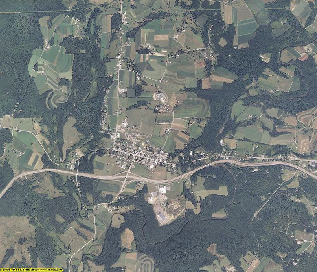 Garrett County, Maryland aerial photography