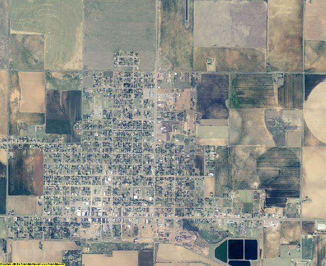 Harmon County, Oklahoma aerial photography