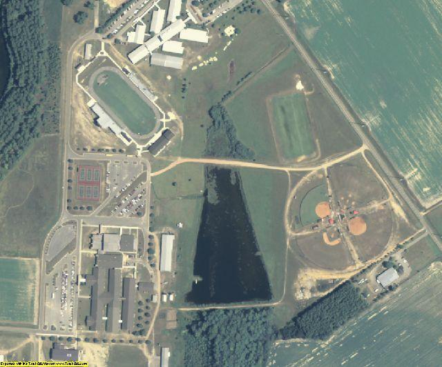 Irwin County, GA aerial photography detail