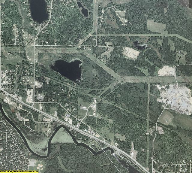 Itasca County, Minnesota aerial photography