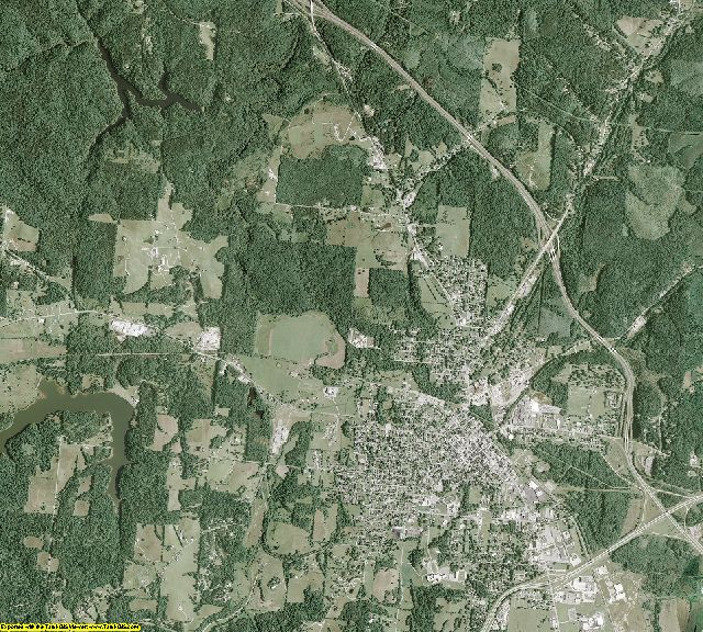 Jackson County, Ohio aerial photography