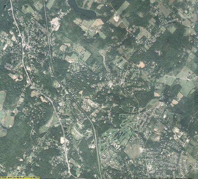 Lackawanna County, Pennsylvania aerial photography
