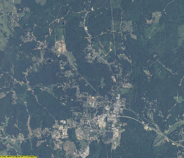 Lamar County, Alabama aerial photography