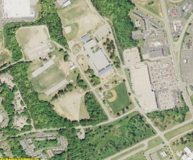 Lancaster County, SC aerial photography detail