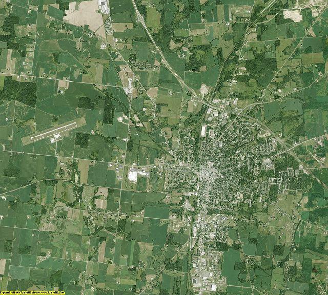 Logan County, Ohio aerial photography