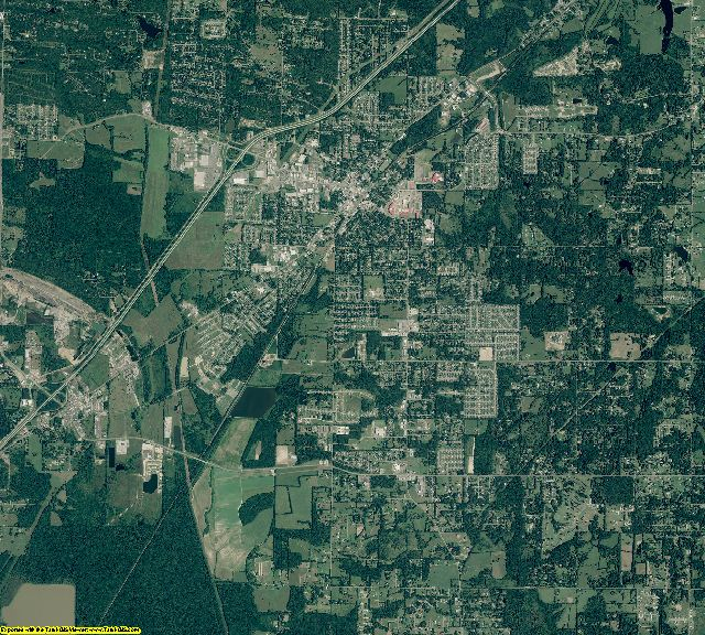 Arkansas aerial photography
