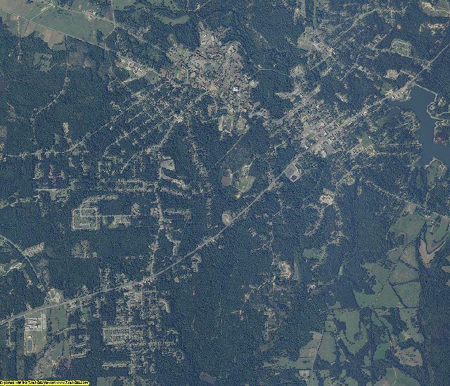 Macon County, Alabama aerial photography