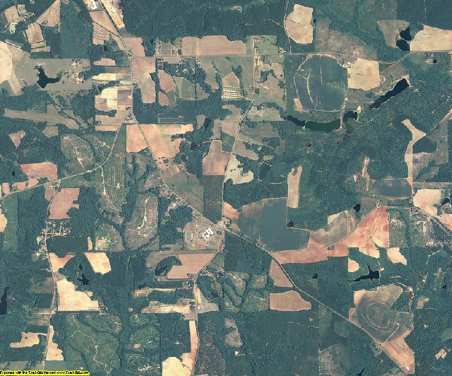 Marion County, Georgia aerial photography