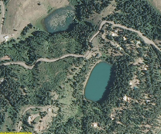 Nez Perce County, ID aerial photography detail