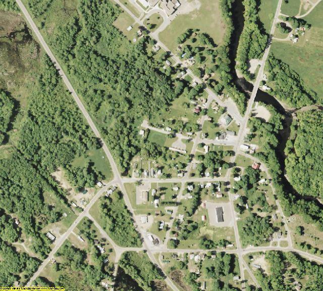 Oswego County, NY aerial photography detail