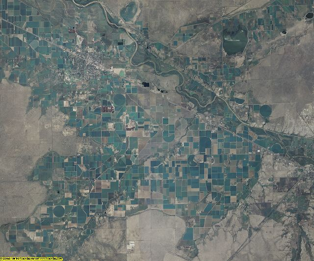 Otero County, Colorado aerial photography