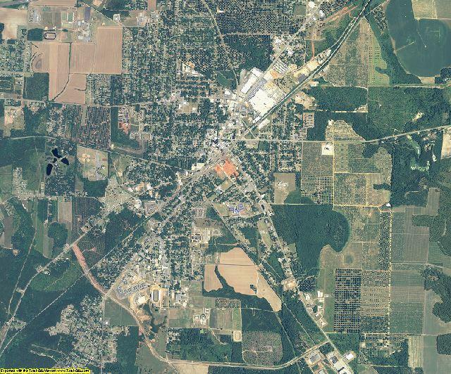 Peach County, Georgia aerial photography