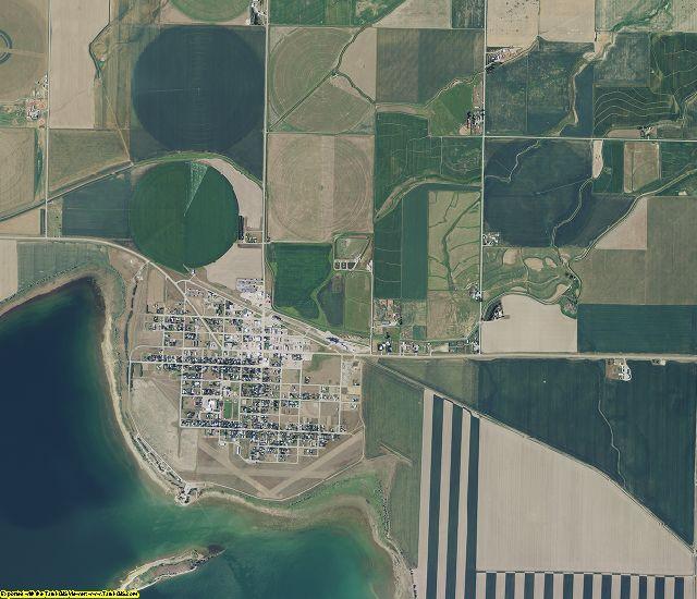 Pondera County, Montana aerial photography