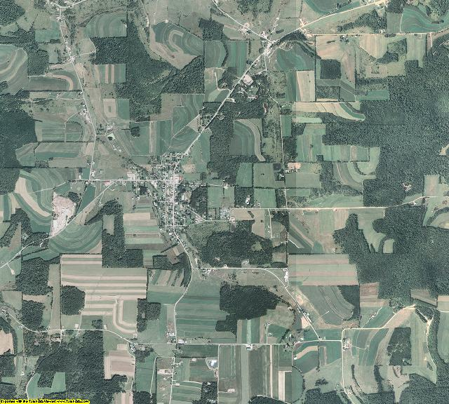 Potter County, Pennsylvania aerial photography